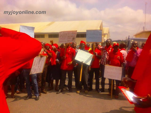 ECG workers protest against company privatisation | ESI ...