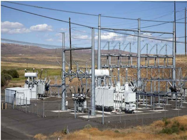 Shango power substation